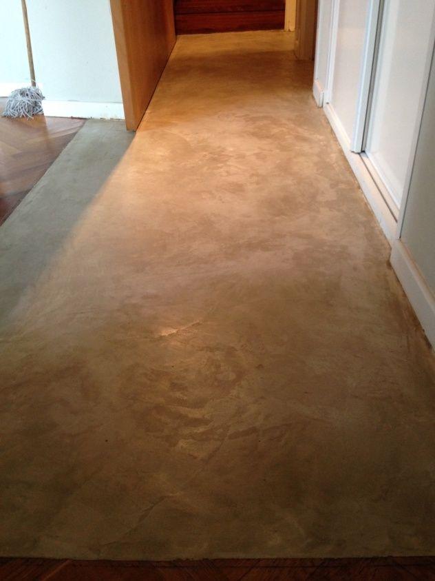 pavimento continuo natural pasillos